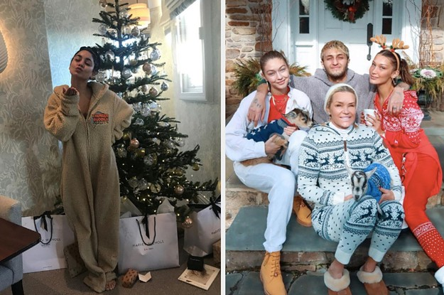 28 Celebrities Who Had A Very Merry Christmas