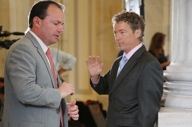 The White House's Iran Briefing Won Over Most Republicans, But Rand Paul And Mike Lee Are Calling It A Disgrace