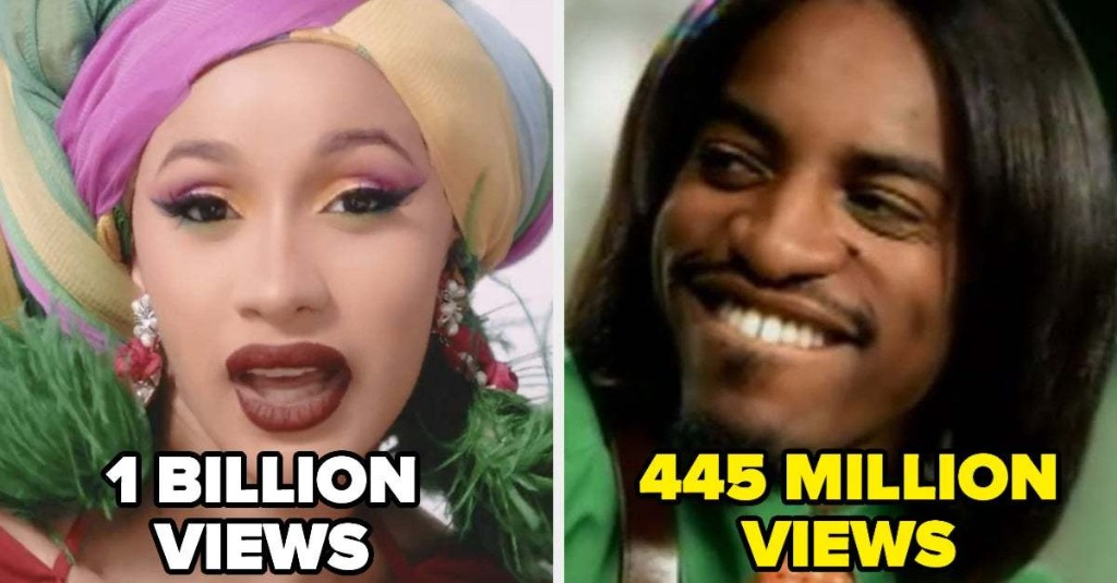 21 Music Videos That Got Over 400 Million Views On YouTube Because They're That Good