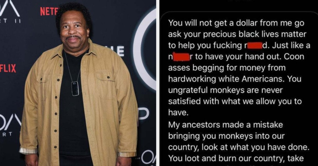 """""""The Office"""" Star Leslie David Baker Received Racist DMs Calling Him The N-Word, A Monkey, And More"""