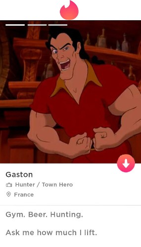 Swipe These Disney Characters On Tinder And We'll Reveal Which Quality You Find Most Attractive