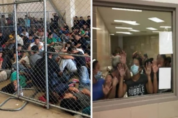 """These Pictures Show The """"Dangerous"""" Overcrowding At Border Patrol Facilities"""