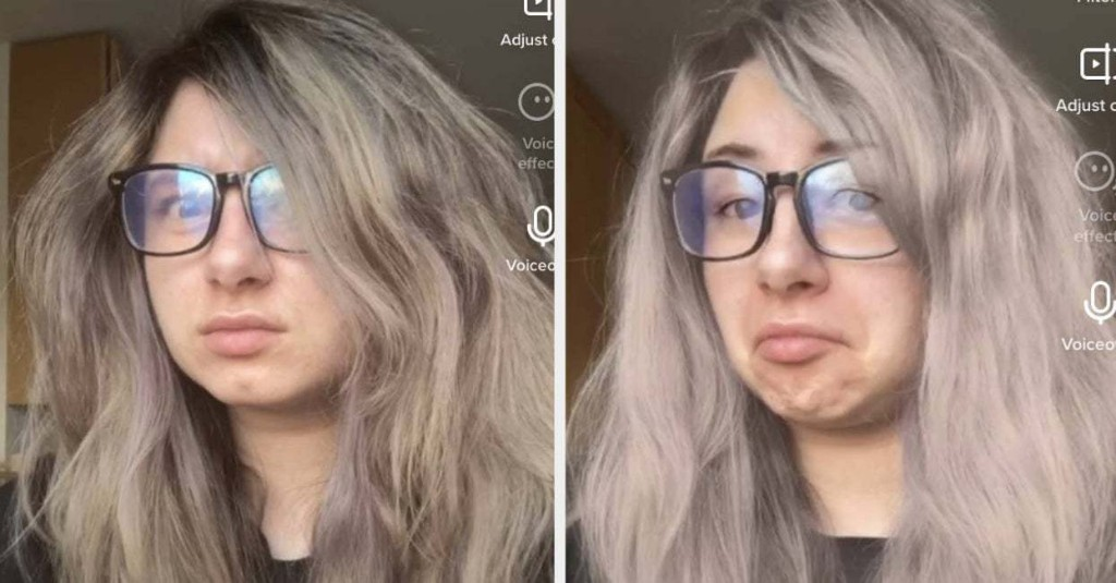 If You've Ever Wondered What You'd Look Like Blonde, This TikTok Effect Is For You