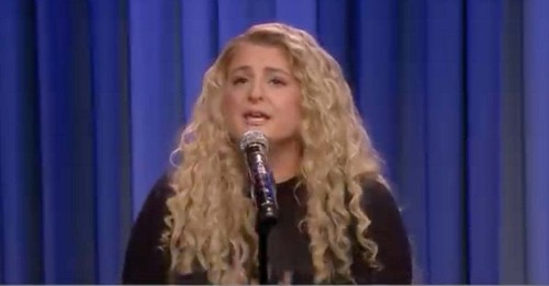 """Over A Million People Have Watched This Clip Of Meghan Trainor Singing An EDM Version Of """"Lose You To Love Me"""" Because It's Just That Good"""