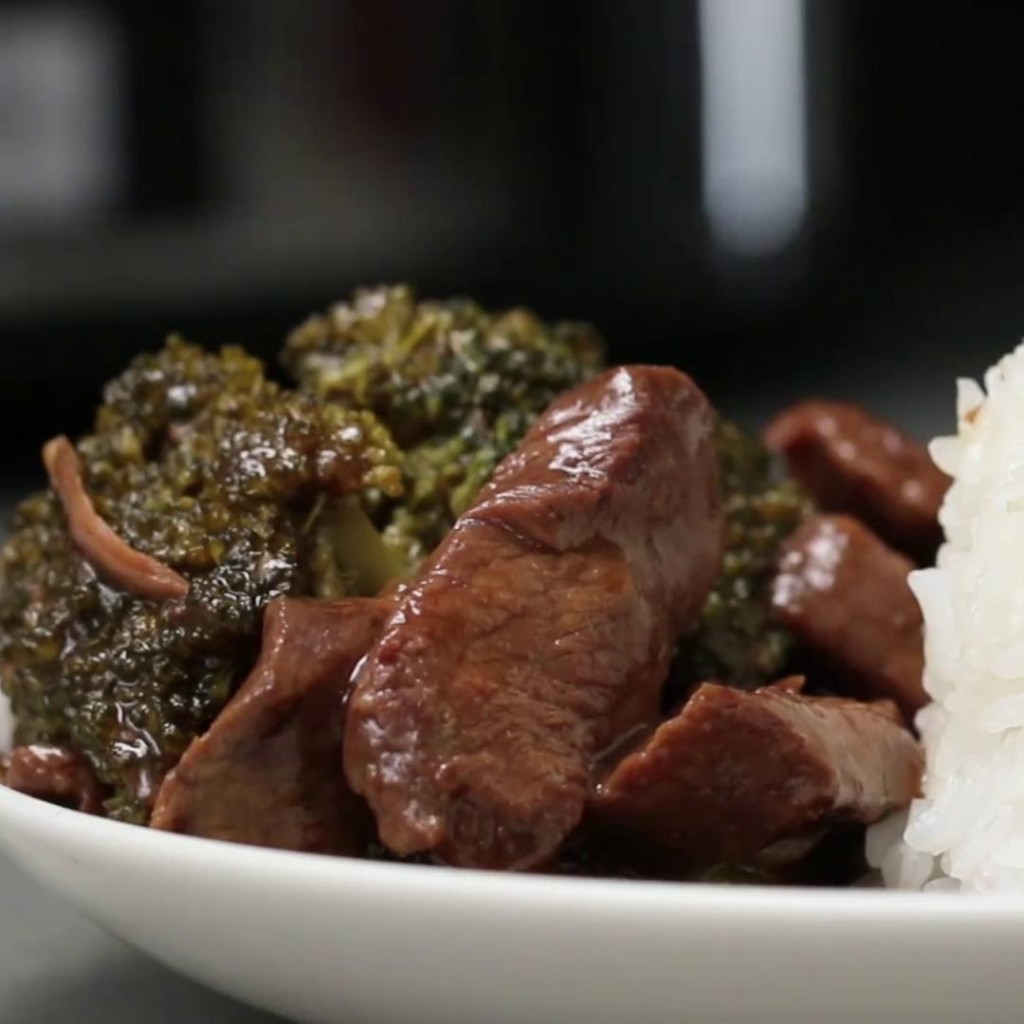 Slow Cooker Beef and Broccoli Recipe by Tasty
