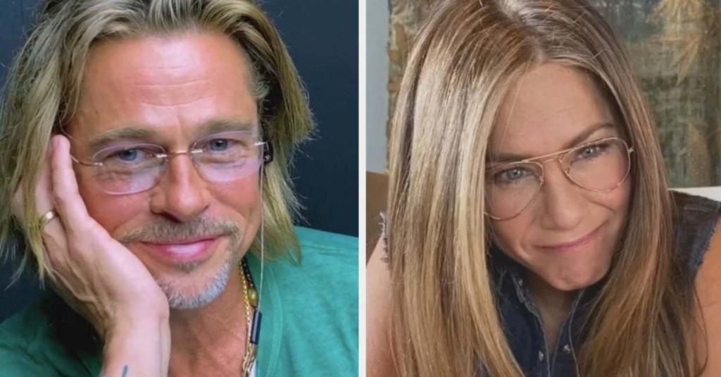 I Can't Stop Thinking About Brad Pitt And Jennifer Aniston