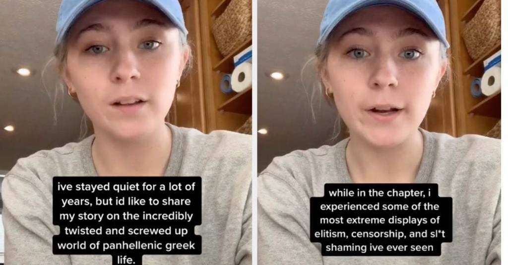 """A College Student's TikTok Story About Greek Life Has Gone Viral But She Says It's """"Just The Tip Of The Iceberg"""""""