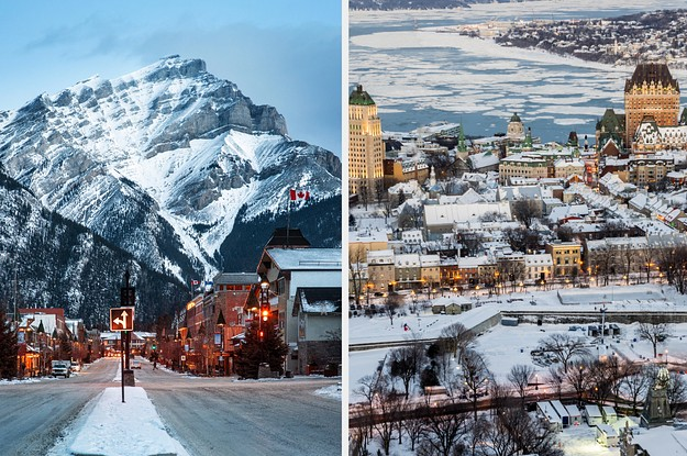 The 10 Best Canadian Cities To Visit In The Winter