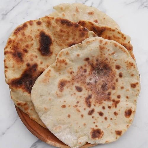 2-ingredient Flatbread Recipe by Tasty