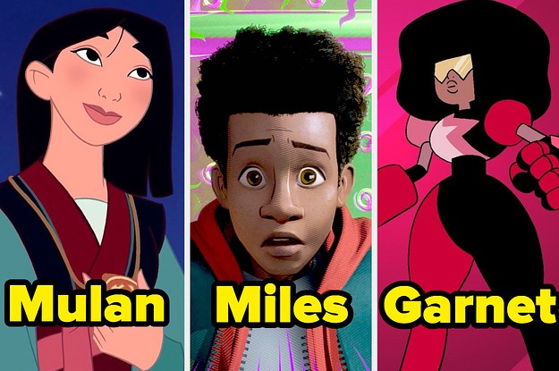 17 Animated Characters Of Colour That Are Actually Voiced By People Of Colour