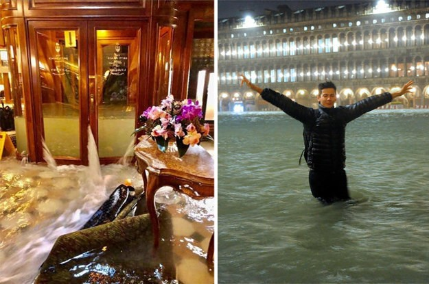 15 Pictures That Show How Devastating The Flooding Is In Venice Right Now