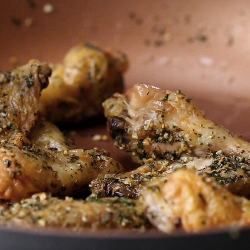 Garlic Herb Baked Wings Recipe by Tasty
