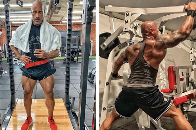 """I'm Trying Dwayne """"The Rock"""" Johnson's """"Jumanji"""" Workout — Here's What It's Like"""