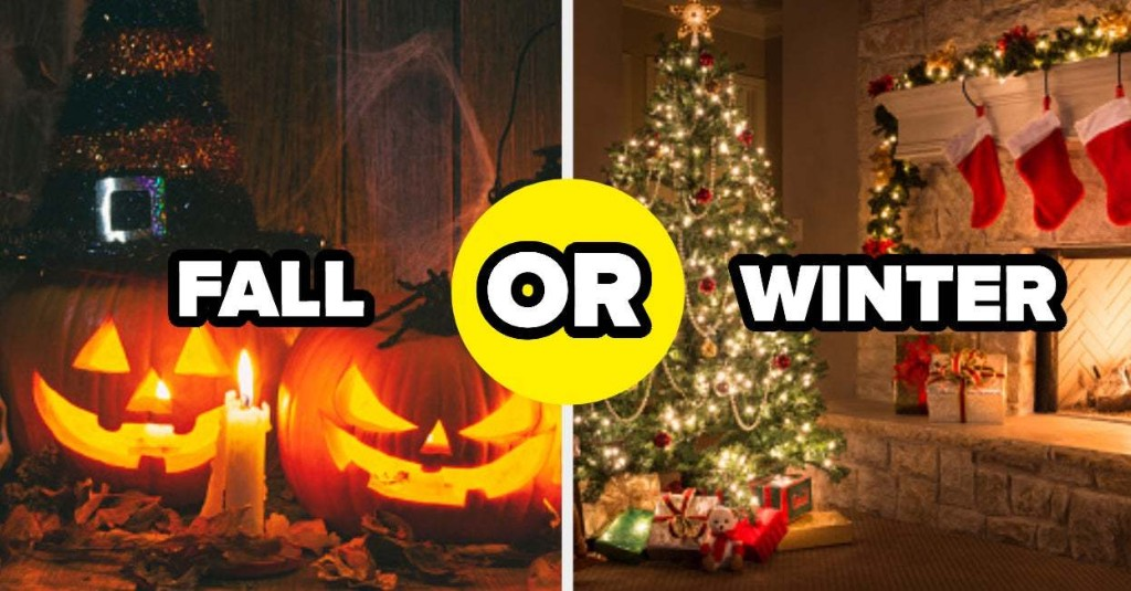 This Fall Vs. Winter Quiz Will Determine Which Holiday Season Is Actually The Best