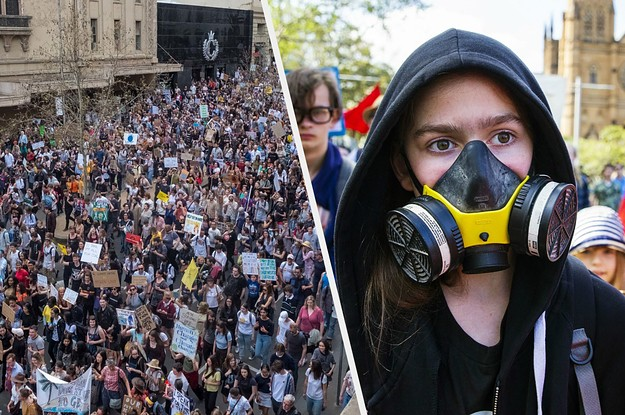 These Photos Show The Extent Of The Youth-Led Global Climate Strike