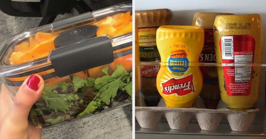 28 Low-Effort Ways To Actually Help Keep Your Fridge Clean And Organized