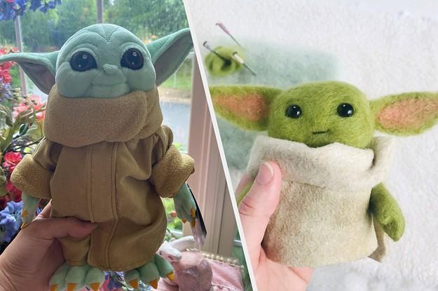 Where To Buy The Cutest Baby Yoda Plush Dolls