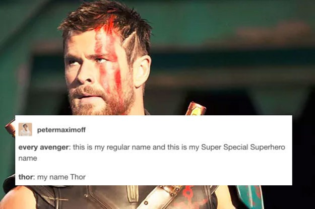 18 Funny Tumblr Posts That Prove Thor Is Basically The Best Avenger