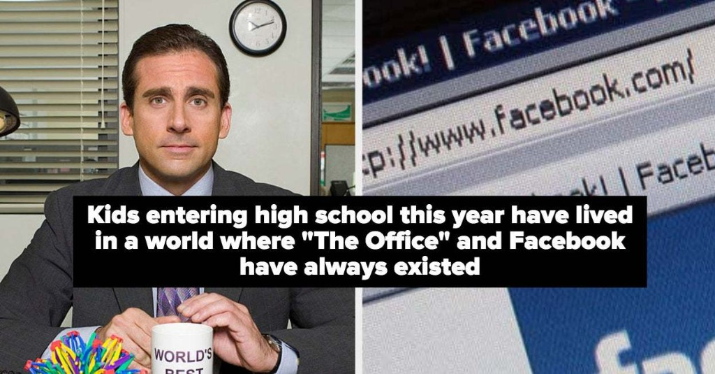 25 Facts That Will Make Anyone Born Before 1995 Feel Like They're 89 Years Old