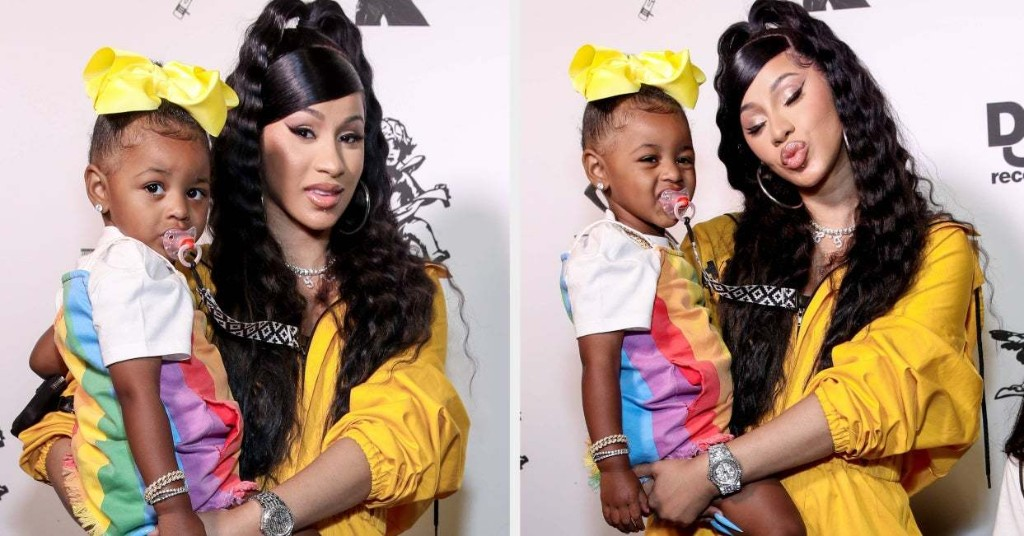 Cardi B Was Called Out For Using A Racial Slur To Describe Her Daughter's Eyes