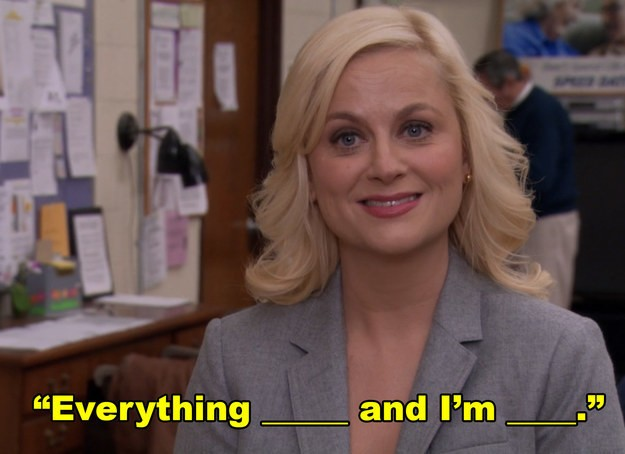 """You Can Only Say You're A """"Parks And Rec"""" Expert If You Finish 6/8 Of These Iconic Quotes"""