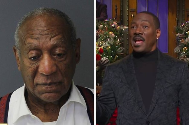 """Eddie Murphy Roasted Bill Cosby In His """"SNL"""" Monologue: """"Who Is America's Dad Now?"""""""