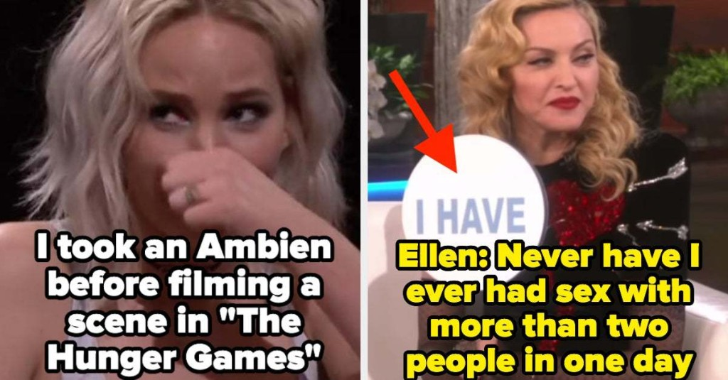 Famous Women Truly Have The Wildest Lives, And Here Are 16 Confessions That Prove It