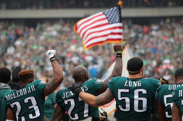 Opinion: Trump Picked A Fight With The Philadelphia Eagles, And He Lost