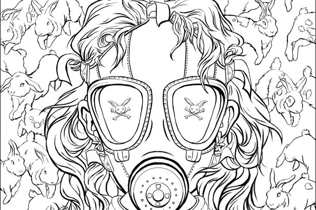 Here's The First Look At Chuck Palahniuk's Coloring Book For Adults