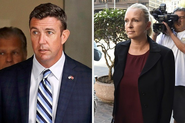 The Wife Of A Republican Congressman Accused Of Misusing Campaign Funds Just Flipped And Pleaded Guilty