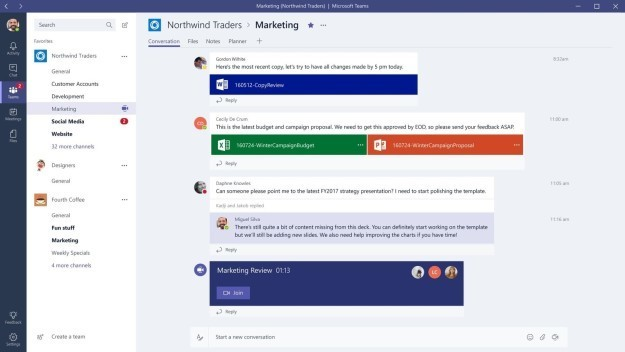 "Microsoft Debuts ""Teams"" Office Chat, And Slack Might Be A Little Worried"