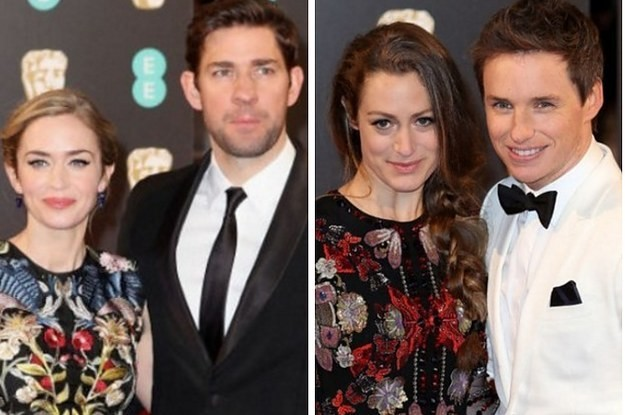 10 Totally Adorable Celebrity Couples On The BAFTAs Red Carpet