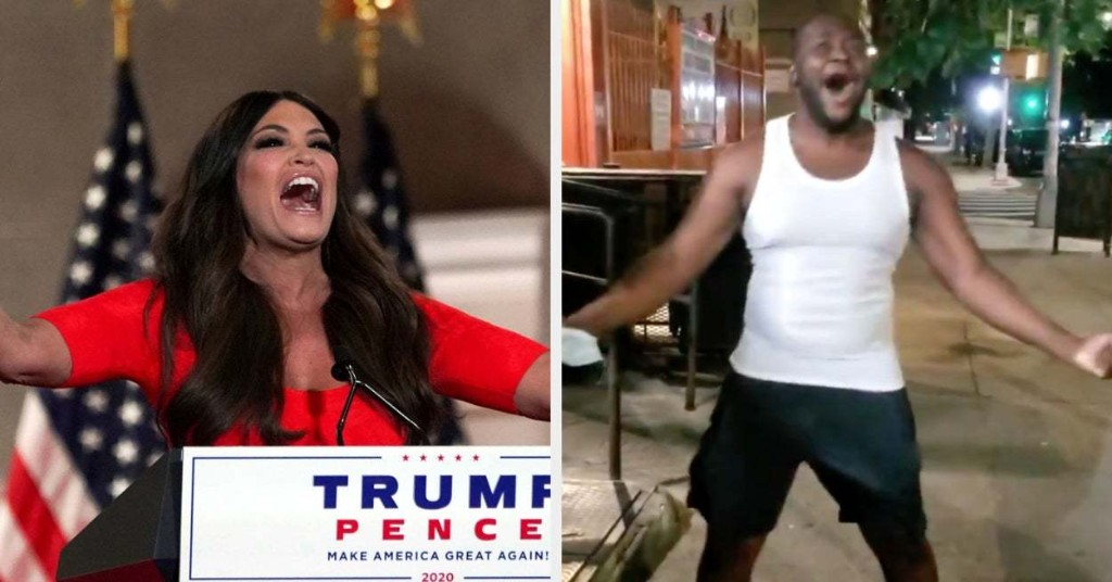 The Very Intense Kimberly Guilfoyle Speech At The RNC Is Now A Meme Where People Yell Into The Void