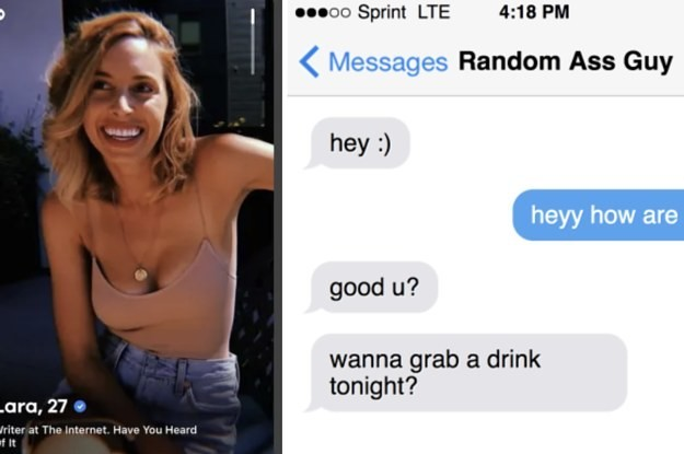 This Is One Of The Biggest Mistakes People Make On Dating Apps, So We Made Up A Name For It
