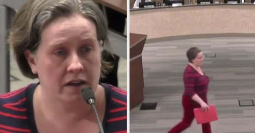 This Teacher Tearfully Resigned At A Live Stream Where Students Were Watching And Her Message Is Important