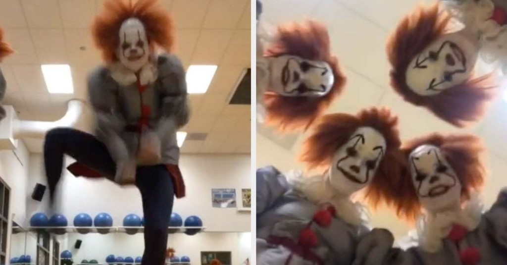 This Dance Team Did A Pennywise-Themed Routine And I'm Happy To Be Viewing It From A Safe Distance