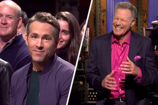 """Ryan Reynolds's Surprise Appearance On """"SNL"""" Is Literally The Best Thing I've Seen All Week"""