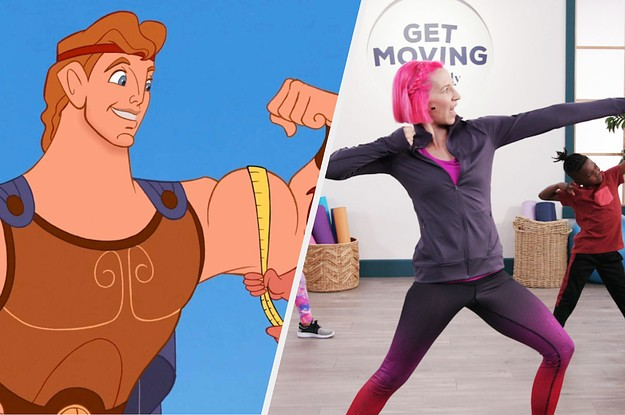 9 Disney-Themed Workouts That'll Help Bring Some Magic To Your Exercise Routine