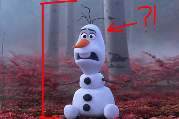 "Someone Listed Olaf The Snowman's Height As 5'4"" And People Lost Their Damn Minds"