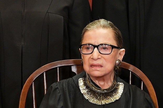 Justice Ruth Bader Ginsburg Is Back At The Supreme Court