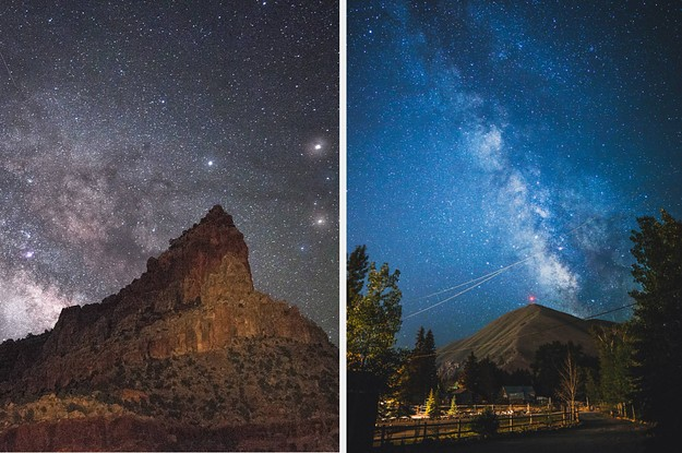 22 US Towns Where The Sky Is So Dark You Can Pretty Much Always See The Stars