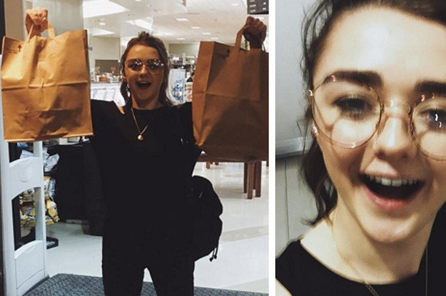 """This Is What Happened When Arya Stark Crashed A """"Game Of Thrones"""" Screening Party"""