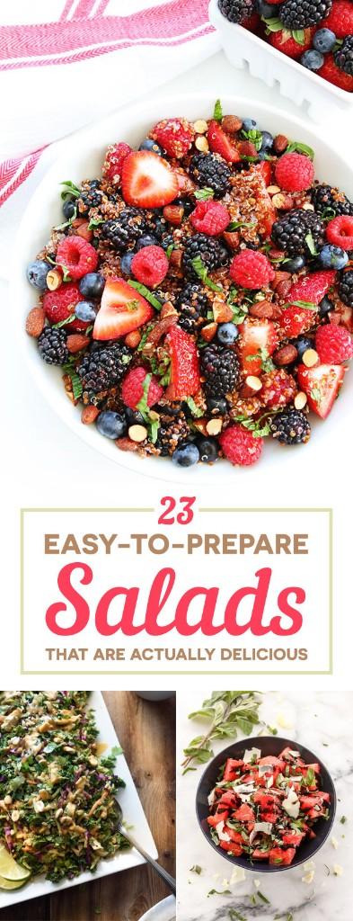 salad - Magazine cover