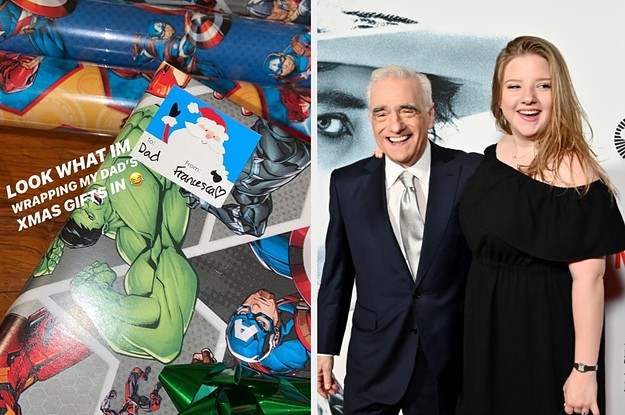 Martin Scorsese's Daughter Wrapped All His Gifts In Marvel Gift Wrap And It's Everything