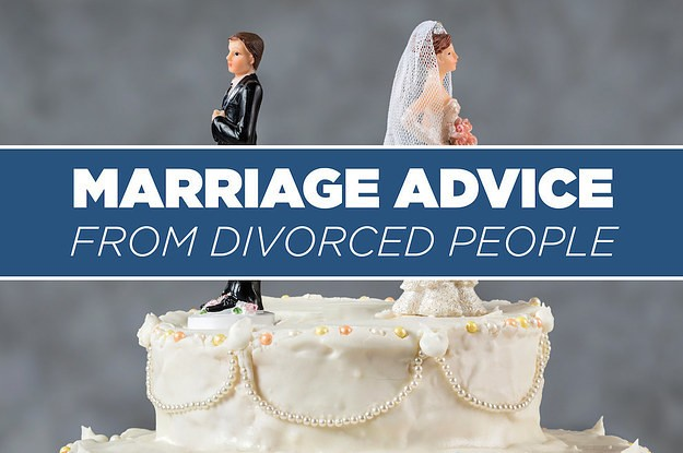 27 Things Divorced People Think You Should Know About Marriage