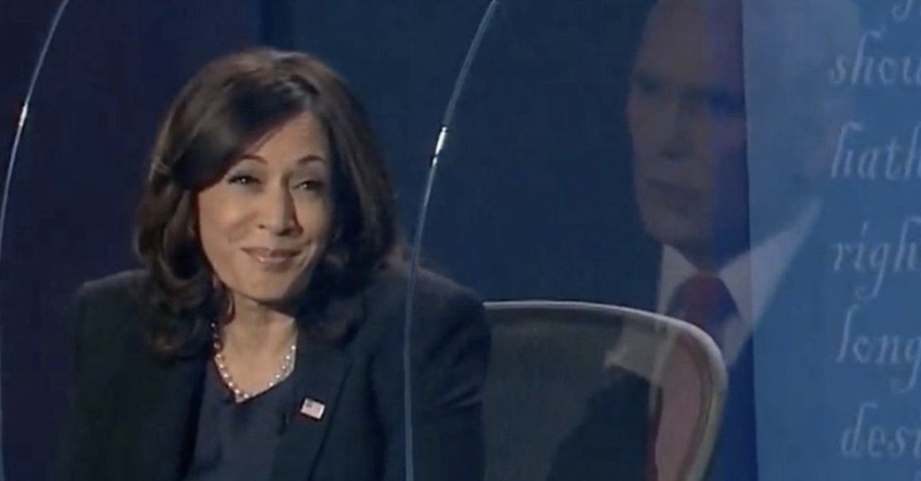 Kamala Harris's Response To Pence's Interruptions During The Debate Is A New Meme