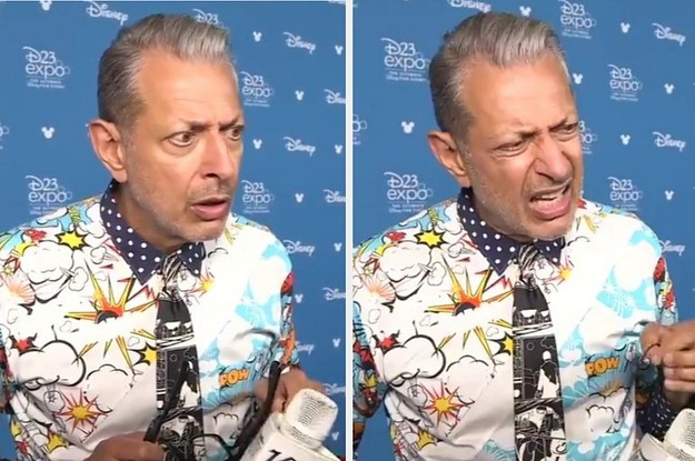 """Jeff Goldblum's Reaction To """"Spider-Man"""" Leaving The MCU Is A Meme Now And It's Hilarious"""