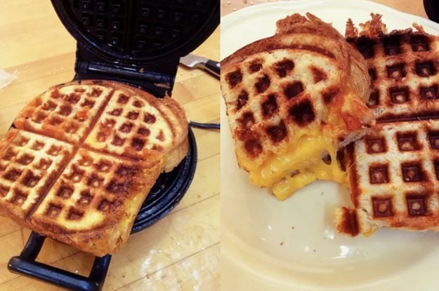 21 Completely Game-Changing Things You Can Make In A Waffle Maker