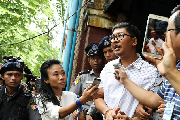 Two Journalists Were Sentenced To Prison For Reporting On Human Rights Abuses In Myanmar