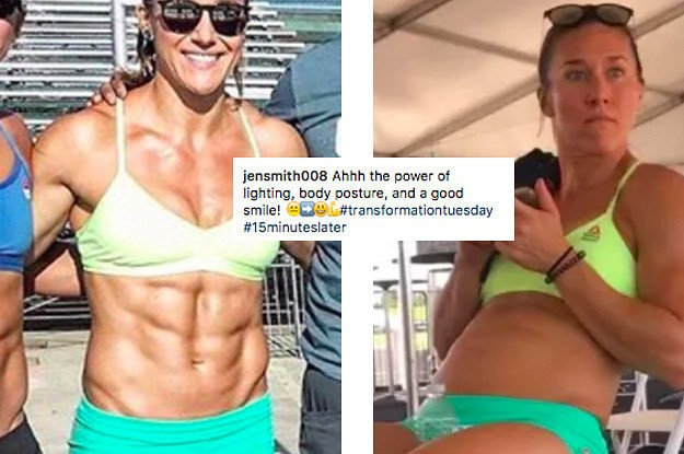 This Crossfit Athlete Revealed The Truth Behind Those #Transformation Photos You Always See On Instagram